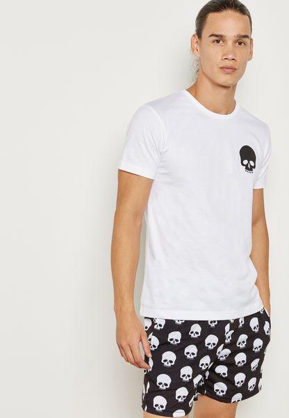 Skull Pajama Set