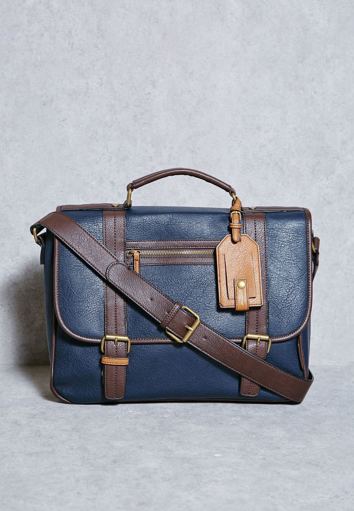 4fb2e9aed7cf Shop Aldo navy Unelan Messenger for Men in Saudi - AL729AC46SFT