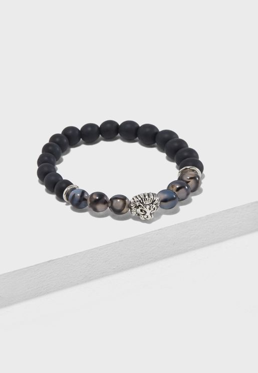Lion Beaded Bracelet