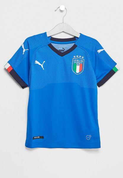 Kids Italia Home Replica T-Shirt