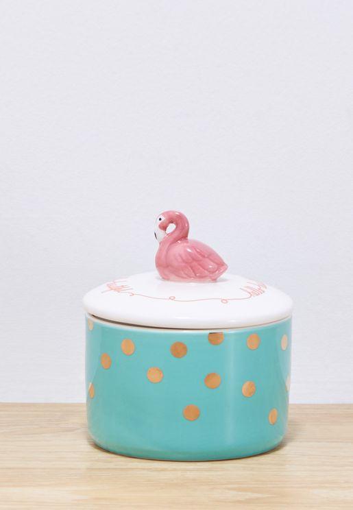 Candy Pop Flamingo Jar