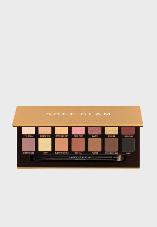 Eye Shadow Palette - Soft Glam