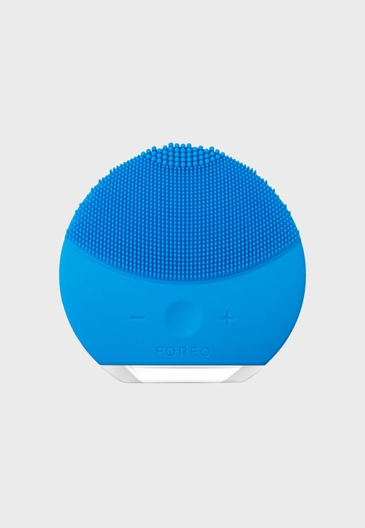 LUNA mini 2 Facial Cleansing Brush - Aquamarine