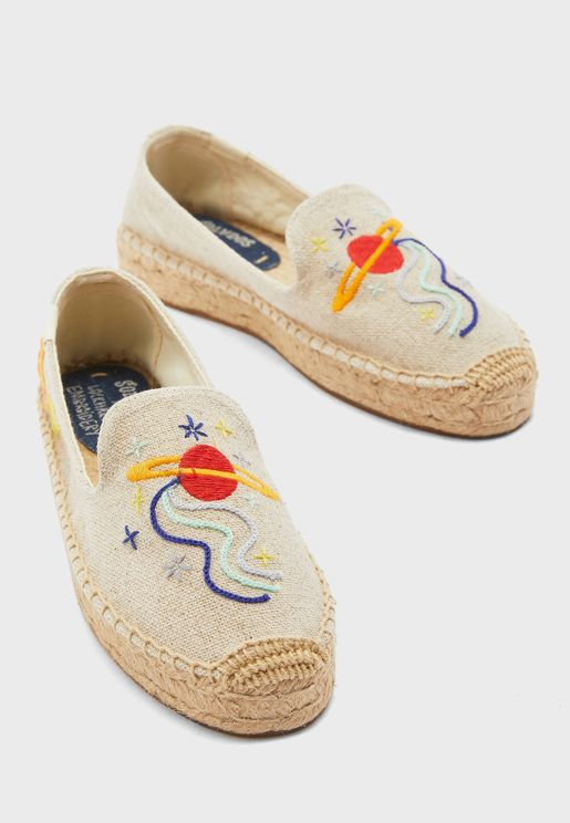 Outer Space Smoking Slipper Sand