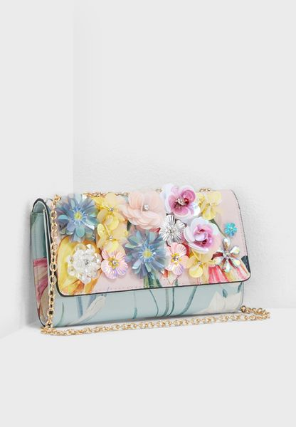 3D Floral Purse