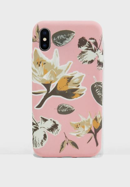 Botanical Floral iPhone X Case