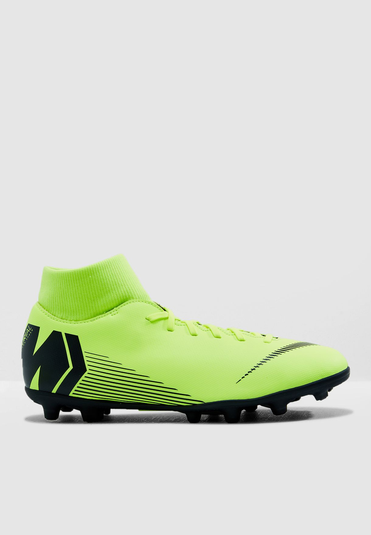 fd8bd7928 Shop Nike green Mercurial Superfly 6 Club FG MG AH7363-701 for Men in Saudi  - NI727SH46ZBD
