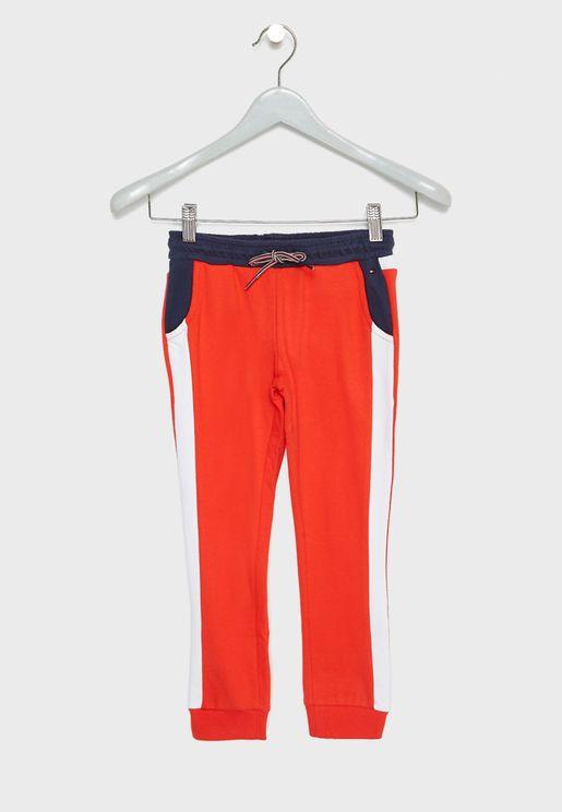 Little Side Stripe Sweatpants
