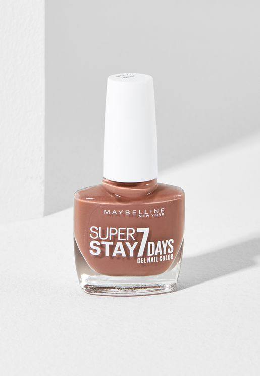 Super Stay C7 Days City Nudes Nail Polish 888 Brick Tan