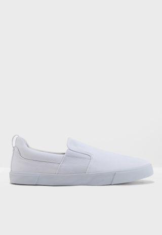 5fd8651f5 Shop Lacoste white Casual L.Ydro Slip Ons 37CMA0043-286 for Men in ...