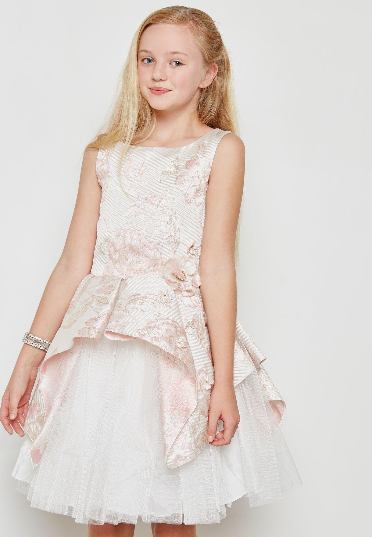 c2bce476a02 Shop David Charles pink Princess Dress 9136LX for Kids in UAE ...