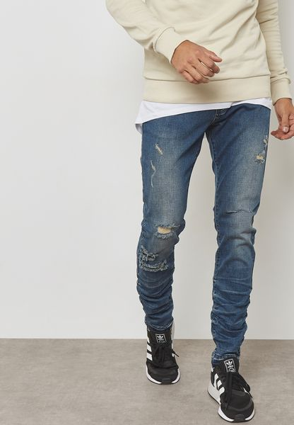 Stacked Ian Slim Fit Jeans