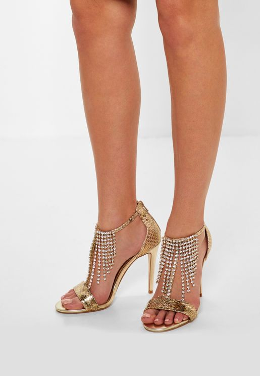Mendoza Di Chandelier Diamante Sandals