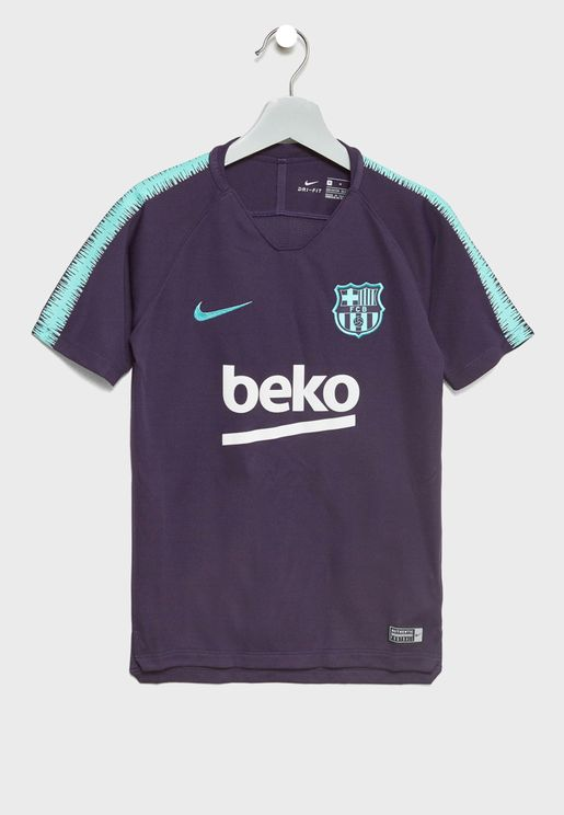 Youth FC Barcelona Breathe Squad T-Shirt
