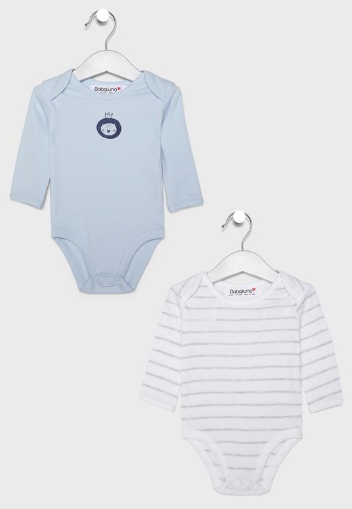 Infant 2 Pack Bodysuits