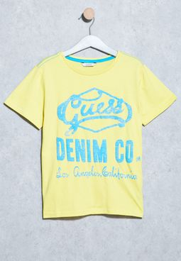 Youth Denim Print Tshirt