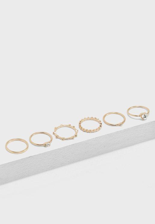 Leaf Ring Set