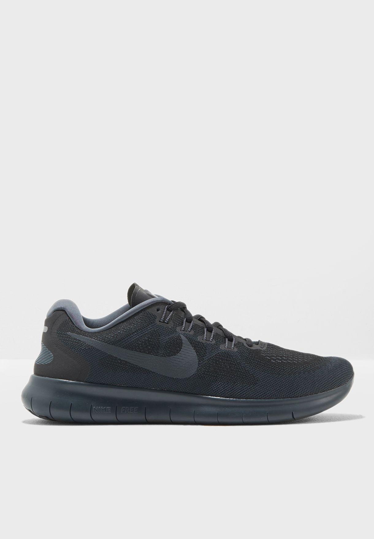 07b2376f529d Shop Nike black Free RN 2017 880839-003 for Men in UAE - NI727SH36AMH