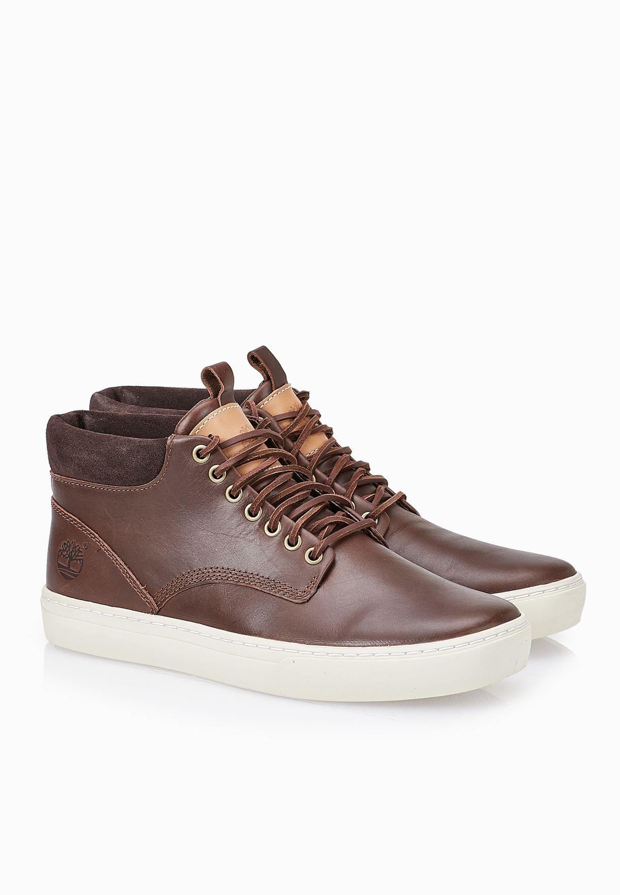 Shop Timberland browns Adventure 2.0 Cupsole Chukka Boots TMFT ... 3b784060b29