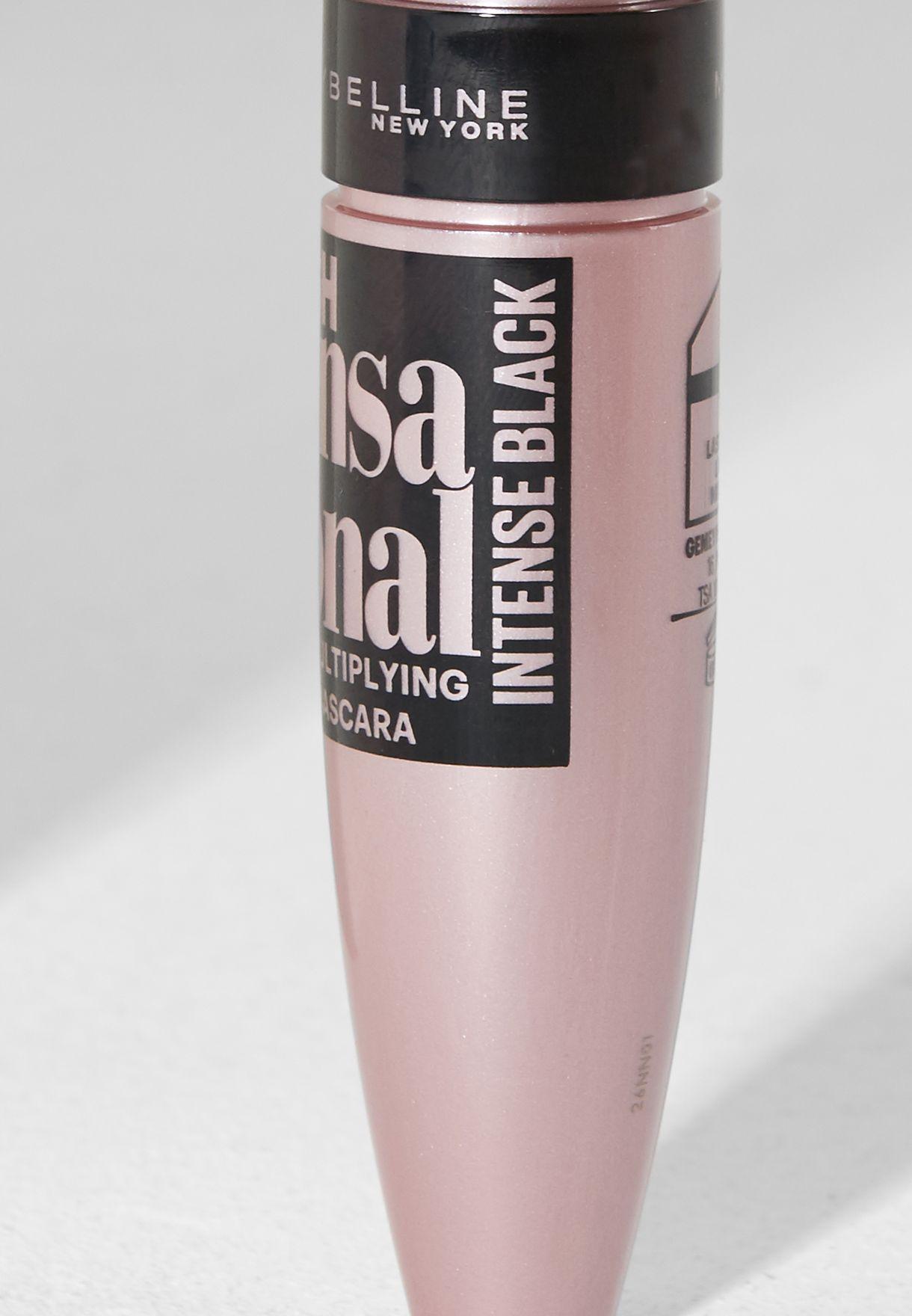 Lash Sensational Washable Mascara Intense Black