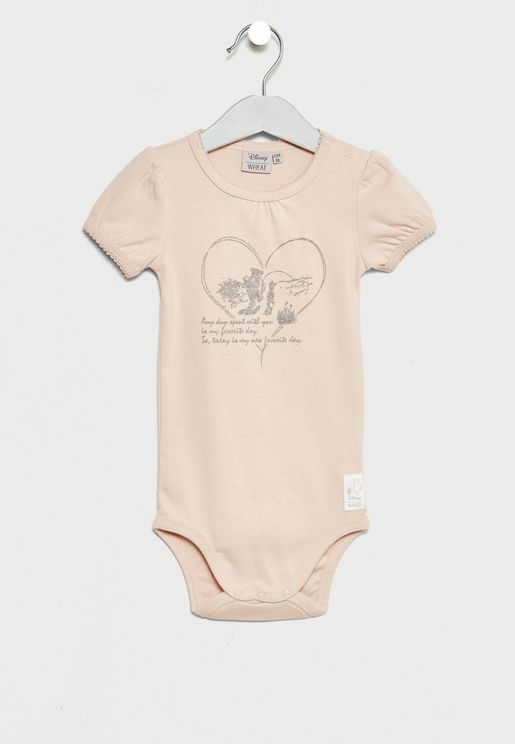 Infant Frill Winnies Favourite Bodysuits