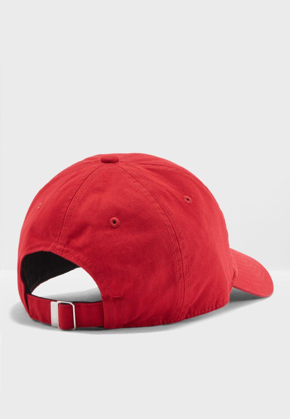 Shop Nike red H86 Jordan Jumpman Cap AO2869-687 for Men in ... 940a126d6d0d