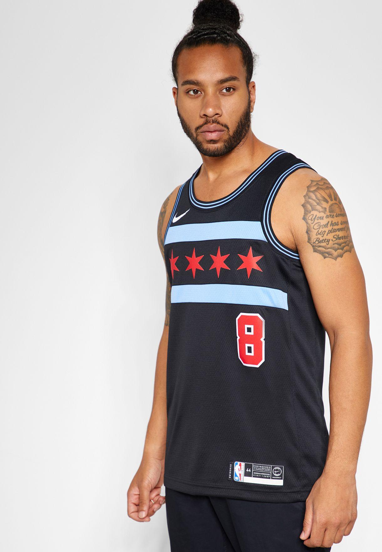 cheap for discount 70c42 faeb6 Chicago Bulls Zach LaVine Swingman Jersey