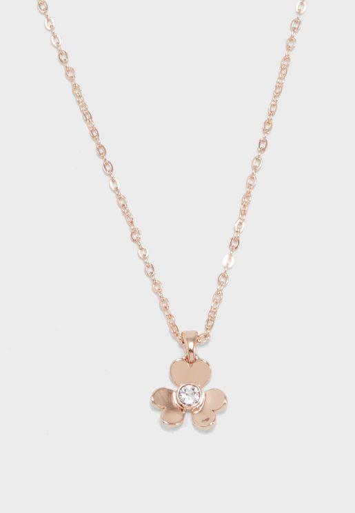 Harpria Heart Blossom Pendant Necklace