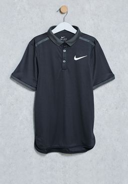 Youth Advance Solid Polo