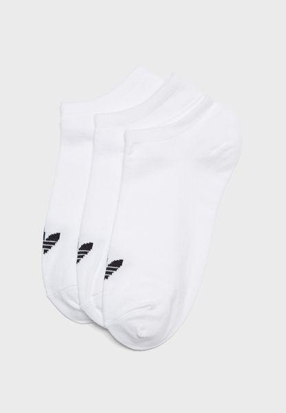 3 Pack Trefoil Liner Socks