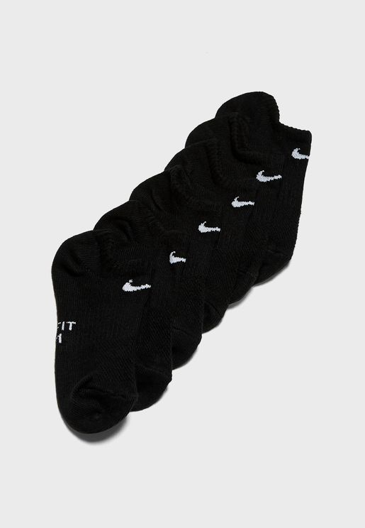Youth 6 Pack No Show Socks