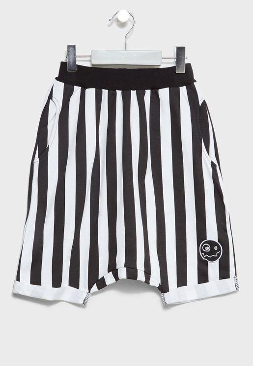 Little Jasper Striped Shorts
