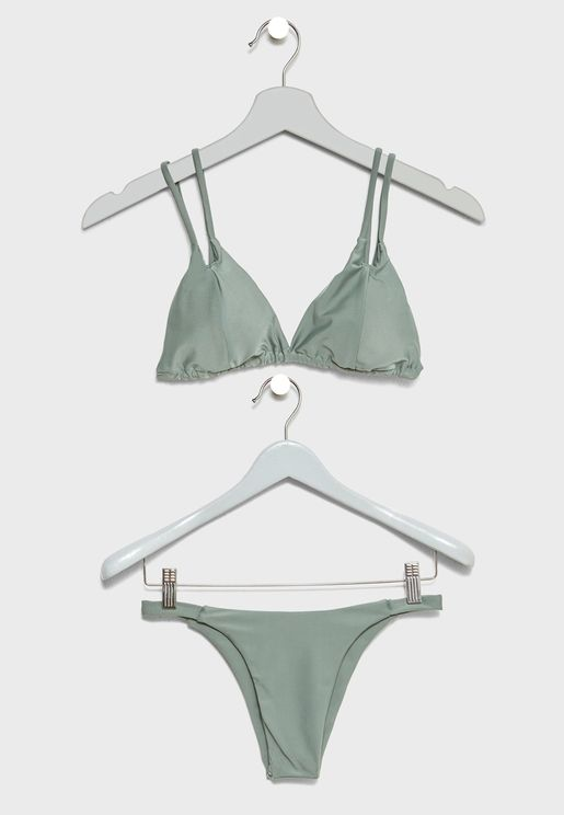Plunge Double Strap Bikini 682854df7d