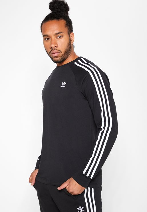 3 Stripes Casual Men's Long Sleeve T-Shirt