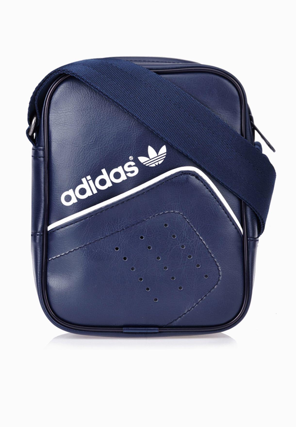 f89d20d92f75 Shop adidas Originals blue Performance Mini Messenger AB2842 for Men in  Bahrain - AD478AC36GOL