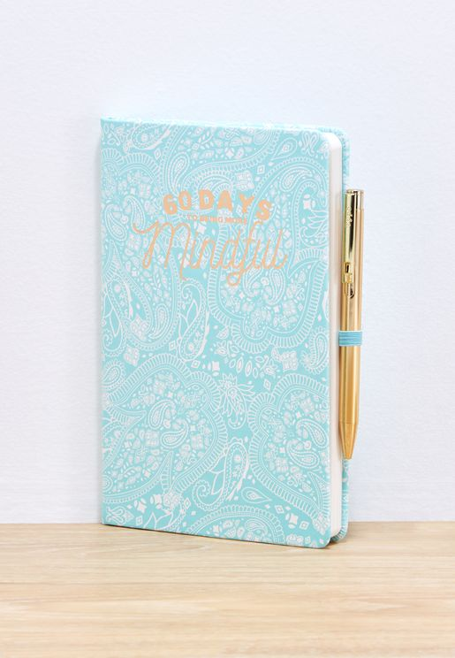 A5 Lace Mindful Boxed Premium Activity Journal