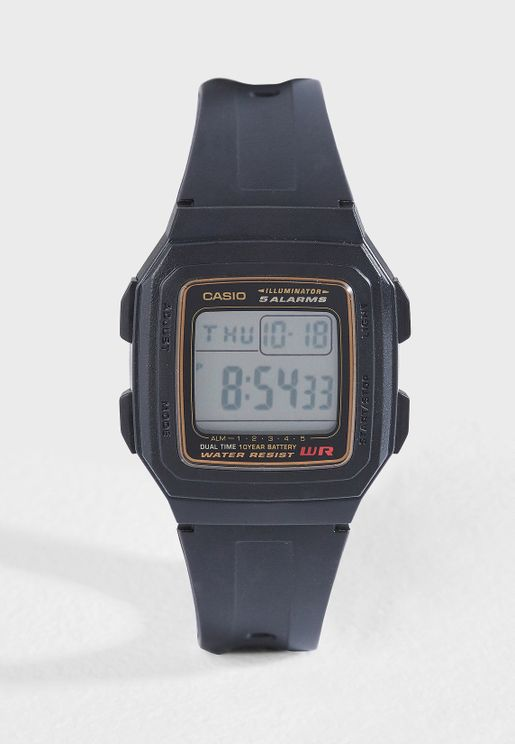 F-201WA-9ADF Digital Watch