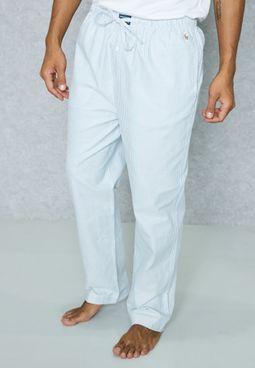 Stripe Print Pyjama Shorts