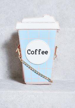Coffee Tumbler Crossbody