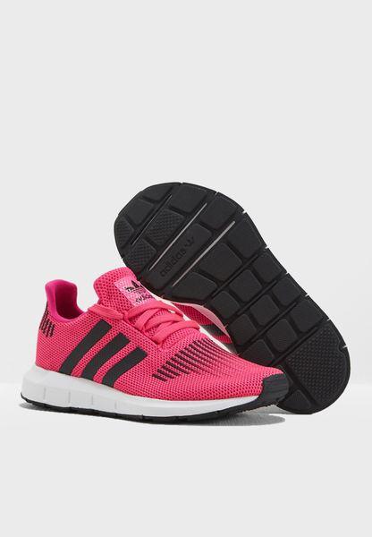 negozio adidas originali rosa swift run gioventù cq2602 per bambini