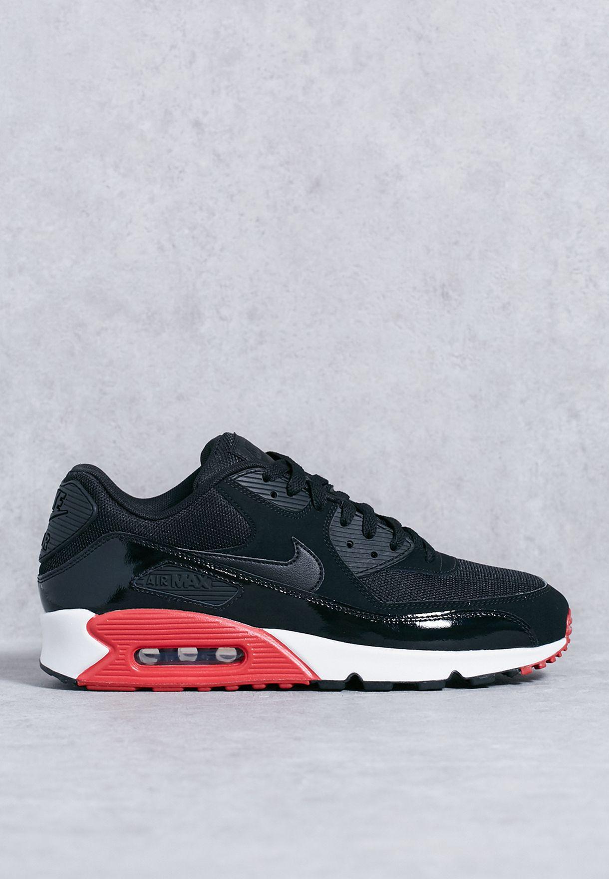 50fa0e55bc3b Shop Nike black Air Max 90 Essential 537384-066 for Men in UAE ...