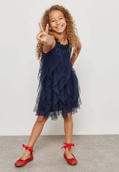 Teen Sally Mesh Dress