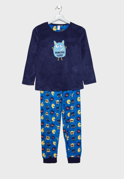 Kids Monster Pyjama Set
