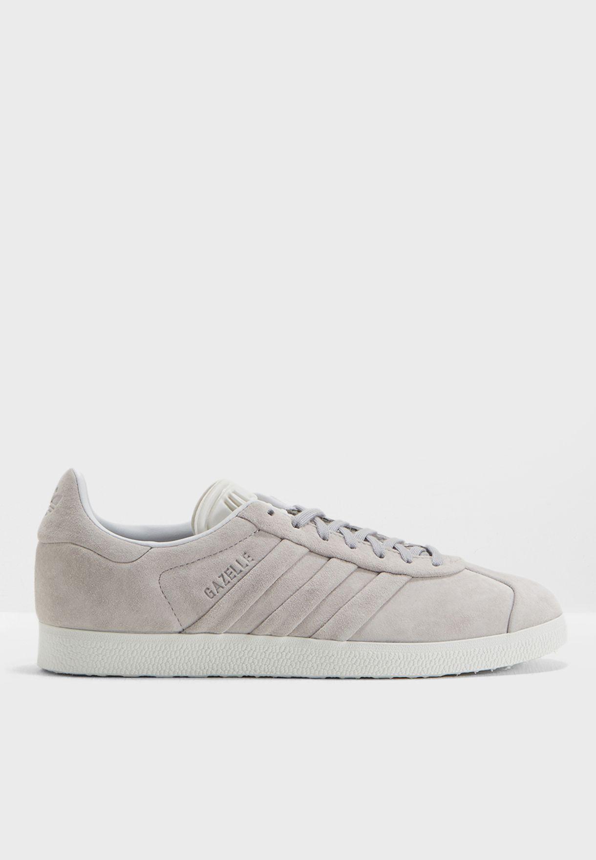 696d9ef26df5 Shop adidas Originals grey Gazelle Stitch and Turn BB6709 for Women ...