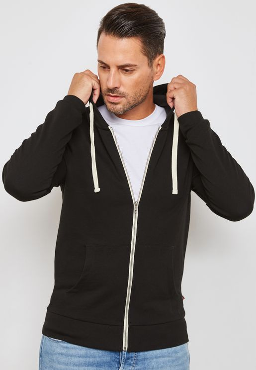 Holmen Zip Through Hoodie