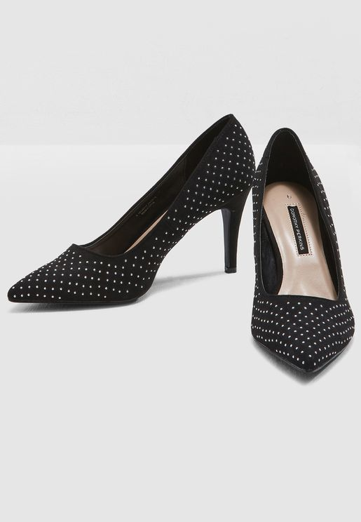 Gracie Kitten Heeled Pump