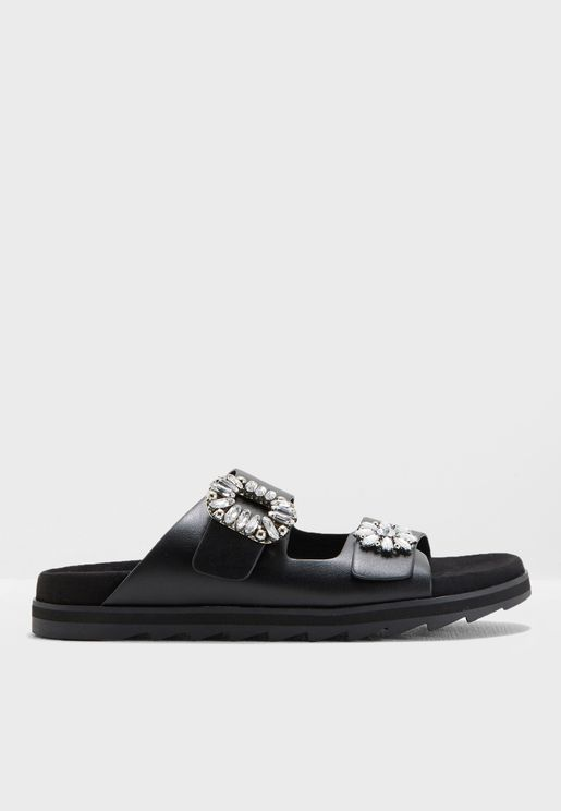 Two Strap Buckle Slides
