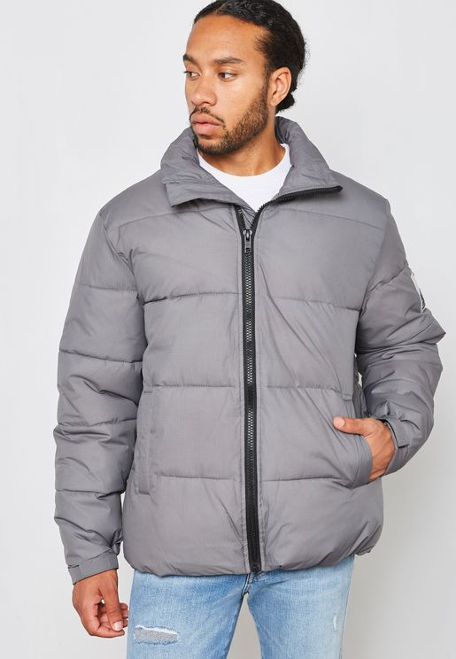 Funnel Puffer Jacket
