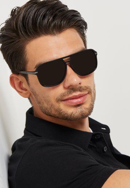 Oversize Retro Sunglasses