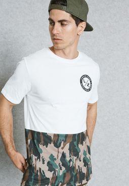 Camo Lost London T-Shirt